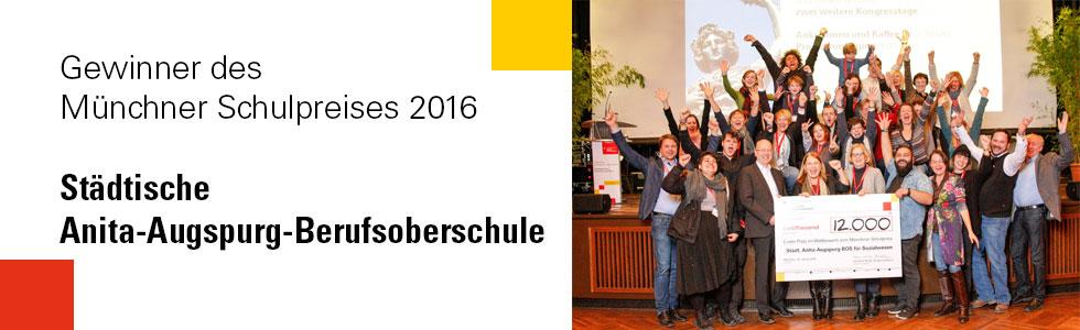 Gewinner Münchner Schulpreis 2016