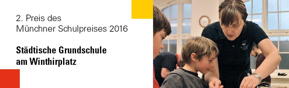 2. Platz Münchner Schulpreis 2016